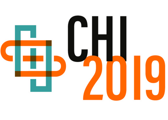 3 papers at CHI 2019